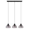This item: Beleser Black Three-Light Pendant