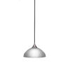 This item: Any Brushed Nickel 16-Inch One-Light Pendant