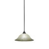 This item: Any Espresso 20-Inch One-Light Pendant with Amber Marble Glass
