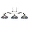 This item: Bow Dark Granite 61-Inch Three-Light Island Chandelier