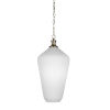 This item: Carina New Age Brass One-Light Pendant with Opal Frosted Glass Shade