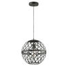 This item: Matte Black One-Light Pendant