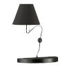 This item: Matte Black One-Light Wall Sconce