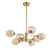 This item: Abii Vintage Bronze Eight-Light Pendant