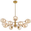 This item: Abii Vintage Bronze 12-Light Pendant
