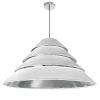 This item: Aranza White Silver Four-Light Pendant