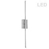 This item: Array Polished Chrome 36-Inch Vertical LED Wall Sconce