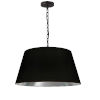 This item: Brynn Black Silver 20-Inch One-Light Pendant