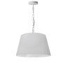 This item: Brynn White 14-Inch One-Light Pendant
