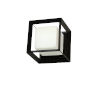 This item: Beatrice Matte Black with Opal White One-Light Wall Sconce