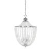 This item: Dawson Clear with Polished Chrome Five-Light Chandelier