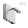 This item: Satin Chrome LED Wall Sconce