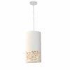 This item: Glora White Gold One-Light Mini Pendant