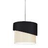 This item: Jazlynn Black Cream One-Light Pendant