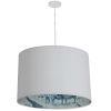 This item: Kate Matte White Three-Light Pendant with Aytel Shade