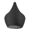 This item: Mashe Black 15-Inch One-Light Pendant