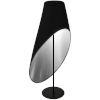 This item: Black Silver Three-Light Floor Lamp