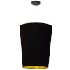 This item: Paisley Black Gold 16-Inch One-Light Pendant