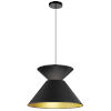 This item: Patricia Black Gold One-Light Pendant