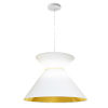 This item: Patricia White Gold One-Light Pendant