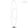 This item: Phoenix Silver LED Floor Lamp