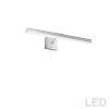 This item: Leonardo Satin Chrome Three-Light LED Picture Light