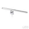 This item: Leonardo Polished Chrome Four-Light LED Picture Light