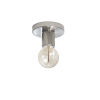 This item: Roswell Satin Chrome Five-Inch One-Light Flush Mount