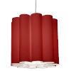 This item: Sandra Red 19-Inch One-Light Pendant