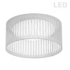 This item: White 15-Inch LED Flush Mount