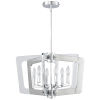 This item: Stillwater Polished Chrome with Clear 20-Inch Six-Light Chandelier