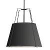 This item: Trapezoid Black 30-Inch Four-Light Pendant