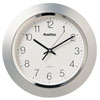 This item: Silver One Light 14-Inch Clock