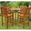 This item: Albacete Set of 5 Bar Height Table Group