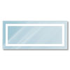 This item: Envisage Silver 28 x 100 Inch LED Vanity Mirror