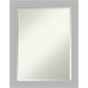 This item: Silver 22W X 28H-Inch Decorative Wall Mirror