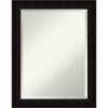 This item: Manteaux Black 22W X 28H-Inch Bathroom Vanity Wall Mirror