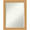 This item: Versailles Gold 22W X 28H-Inch Bathroom Vanity Wall Mirror