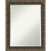 This item: Intaglio Black 23W X 29H-Inch Bathroom Vanity Wall Mirror