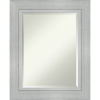 This item: Romano Silver 25W X 31H-Inch Bathroom Vanity Wall Mirror