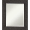 This item: Espresso Frame 21W X 25H-Inch Bathroom Vanity Wall Mirror