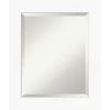This item: White 21W X 25H-Inch Bathroom Vanity Wall Mirror