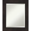 This item: Espresso 21W X 25H-Inch Bathroom Vanity Wall Mirror