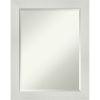 This item: Mosaic White 22W X 28H-Inch Bathroom Vanity Wall Mirror