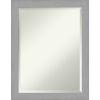 This item: Brushed Nickel 22W X 28H-Inch Bathroom Vanity Wall Mirror