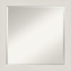 This item: Rustic Plank White 23W X 23H-Inch Bathroom Vanity Wall Mirror