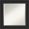This item: Colonial Black 26W X 26H-Inch Bathroom Vanity Wall Mirror