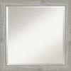 This item: Dove Gray 24W X 24H-Inch Bathroom Vanity Wall Mirror