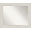 This item: Rustic Plank White 33W X 27H-Inch Bathroom Vanity Wall Mirror
