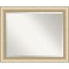 This item: Elegant Brushed Honey 33W X 27H-Inch Bathroom Vanity Wall Mirror